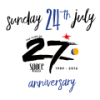 Space 27th Anniversary logo