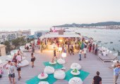 This week at Rooftop Nine at Sol House Ibiza
