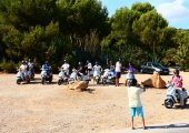 Hire a scooter on Formentera